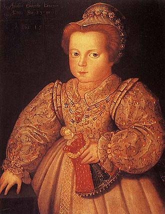 Lady Arbella Stuart - Arbella Stuart as a child