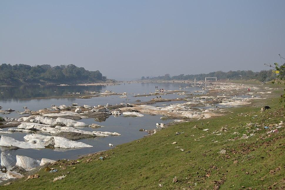 Subarnarekha river from copper mines