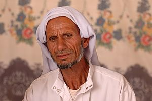 Tarabin bedouin - Suliman Tarabin, the father of Ouda Tarabin