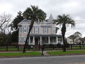 Waycross Historic District - Summerall Tillman Home, Gilmore St.