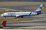 SunExpress Deutschland, D-ASXD, Boeing 737-8AS (31441148385).jpg