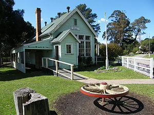 Old Gippstown - Sunny Creek School