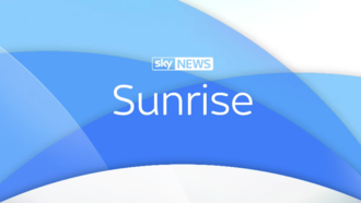 Sunrise (Sky News) - Sunrise logo (August 2017-present)