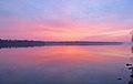 Sunrise over the Mississippi River (25469747022).jpg