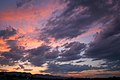 Sunset over Rampart Range, Colorado Springs, Colorado.jpg