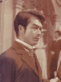 Susumu Namishima Studio Still from Sugata-sanshiro 1955 Scan10013.jpg