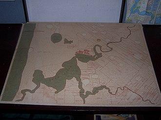 John Septimus Roe - Survey Map of the Swan River Colony circa 1830s