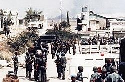 Israeliska trupper star utanfor gazaremsan 3