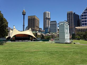 Carols in the Domain - The Domain, Sydney, the venue of the Carols