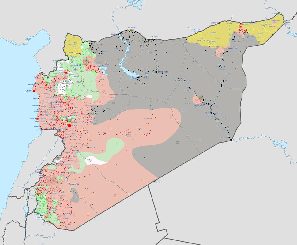Syrian civil war 04 04 2015
