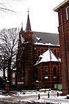 foto van Kapel van het kruisherenklooster in neo-gotische stijl