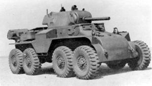 T18 Boarhound - Image: T18E2 armored car haugh 1