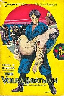 <i>The Volga Boatman</i> (1926 film) 1926 film by Cecil B. DeMille, Frank John Urson