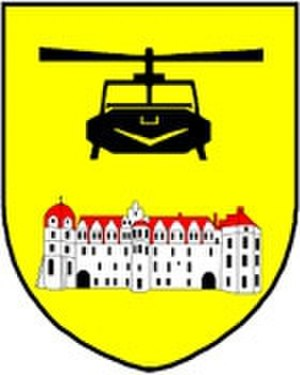Faßberg Air Base - Coat of arms of Transport Helicopter Regiment 10