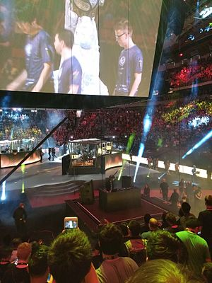 The International 2015 - The International 2015 at the KeyArena in Seattle.