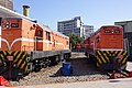 TRA R47 and R49 at Changhua Roundhouse 20140115.jpg