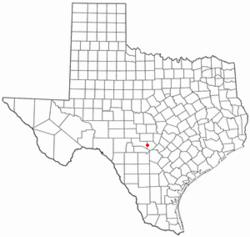 Map Of Comfort Texas