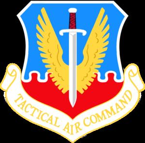 James Connally Air Force Base - Image: Tactical Air Command Emblem