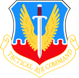 1947-1992 United States Air Force major command responsible for tactical fighter, attack, reconnaissance and other aircraft