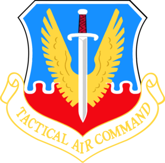 James Connally Air Force Base - Image: Tactical Air Command Emblem