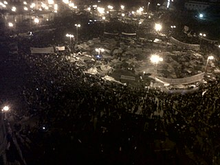 Tahrir Square during 9 February evening.jpg