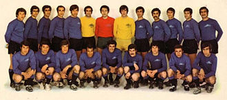 Esteghlal F.C. - TAJ squad in 1970 as national and continental champions