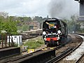 Tangmere with the Golden Arrow Statesman from Derby to Canterbury West (14018250484).jpg