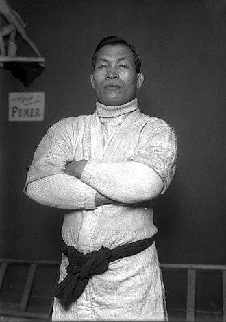 Taro Miyake - Miyake visiting Maitrot's Academy in Paris, 1914
