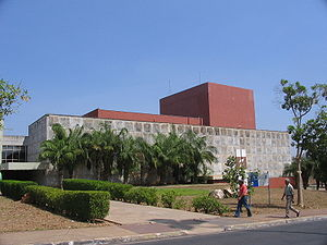 Mato Grosso - Theatre of Federal University of Mato Grosso