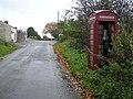 Telephone box, Gorticashel - geograph.org.uk - 1547676.jpg