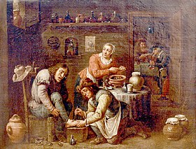 Teniers school Foot operation 1663.jpg