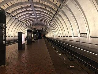 Tenleytown–AU station Washington Metro station
