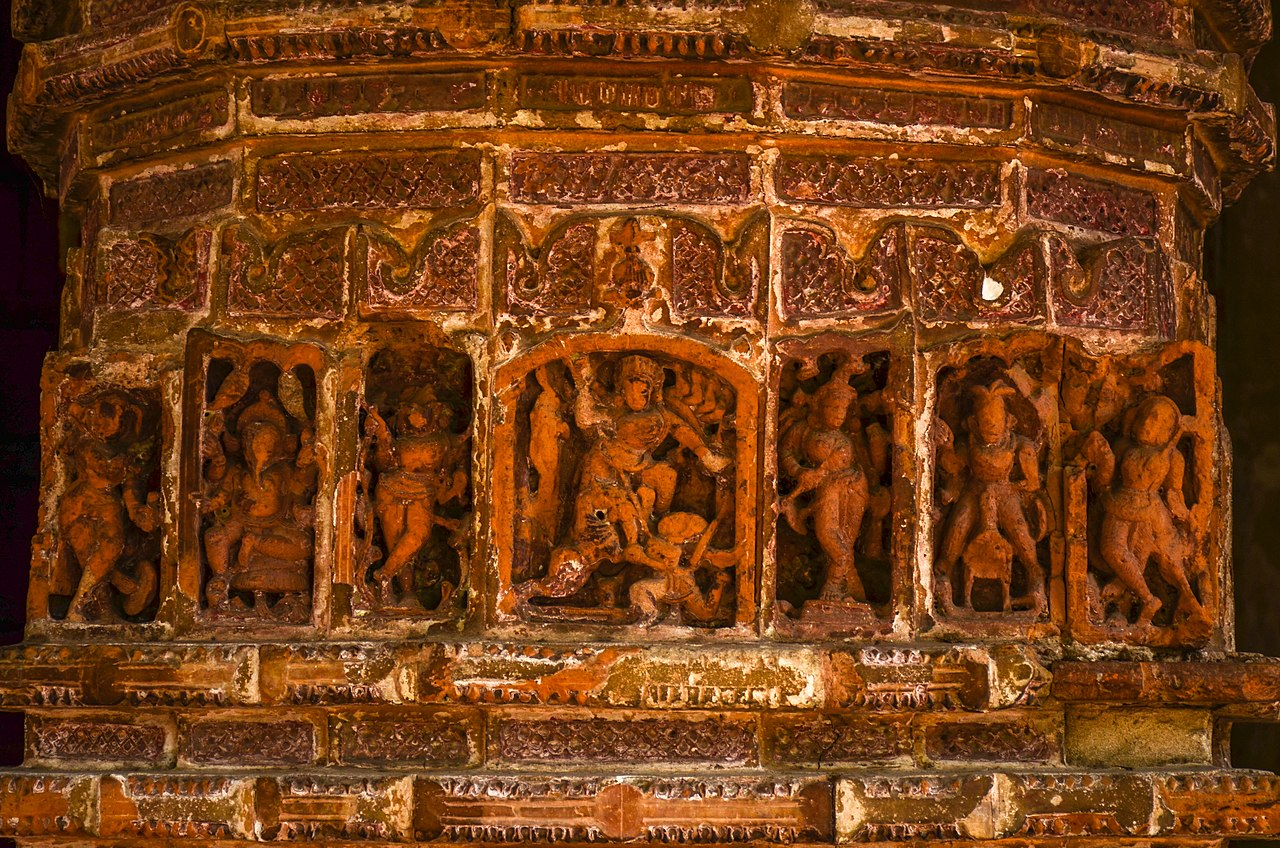 Terracota Panel in Krishnachandra temple WLM2016 DSC 5371.jpg