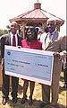 Terri Sewell presents grant award to William A. Bell Sr.jpg