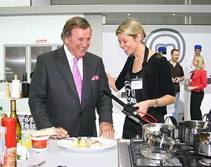 Terry Wogan - Wogan on MasterChef Live in November 2009