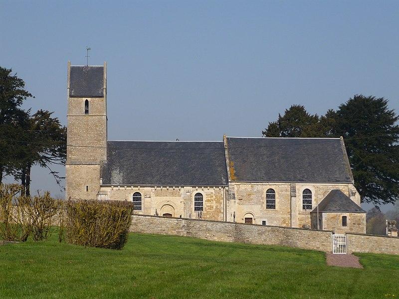Église Saint-Germain de Tessel (Calvados)