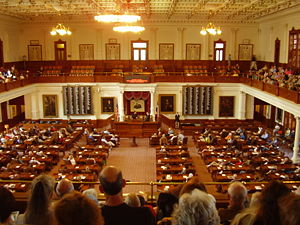 Texas State Capitol House of Representatives C...