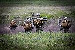 Texas paratroopers jump over Fort Hood (17125901390).jpg