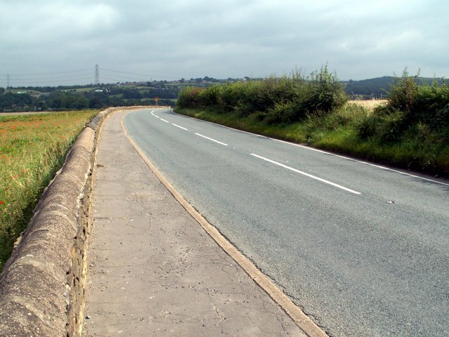 The A635 to Barnsley - geograph.org.uk - 531665