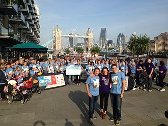 ASK Italian - The ASK Italian Grand Tour at the start of the London walk in September 2013