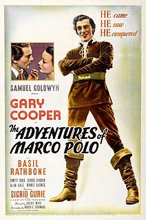 <i>The Adventures of Marco Polo</i> 1938 film by John Ford, Archie Mayo