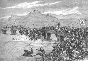 Battle of Stirling Bridge - Image: The Battle of Stirling Bridge
