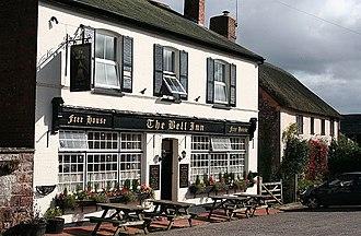 Thorverton - The Bell Inn, Thorverton.