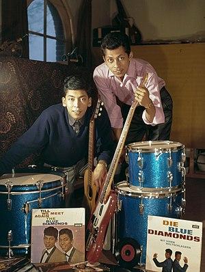 The Blue Diamonds (duo) - The Blue Diamonds (c. 1960–1969)