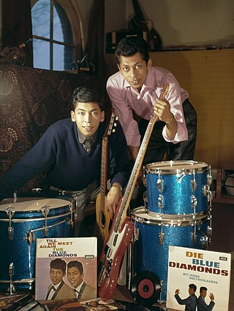 The Blue Diamonds (duo) - The Blue Diamonds (c. 1960–1969)