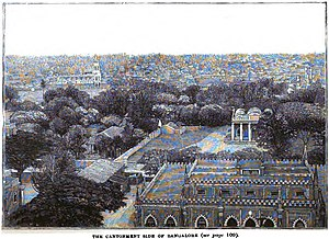 Bangalore Cantonment - Image: The Cantonment Side of Bangalore (p.98) Copy