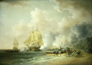 The Capture of Fort Louis, Martinique, 20 March 1794