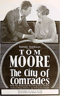 <i>The City of Comrades</i> 1919 film directed by Harry Beaumont