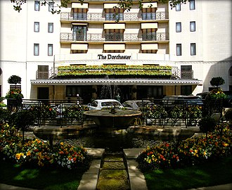 Park Lane - The Dorchester opened in 1931 and retains its Art Deco style.