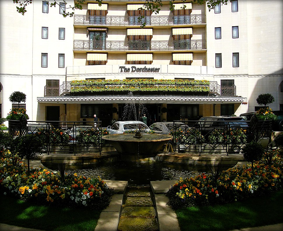 The Dorchester Hotel in London Mayfair, England United Kingdom (4579989922)